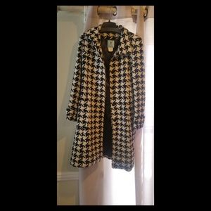 Guess by Marciano Houndstooth Coat